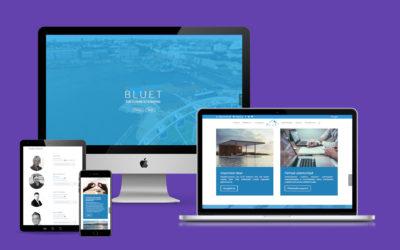 bluet wordpress verkkosivusto